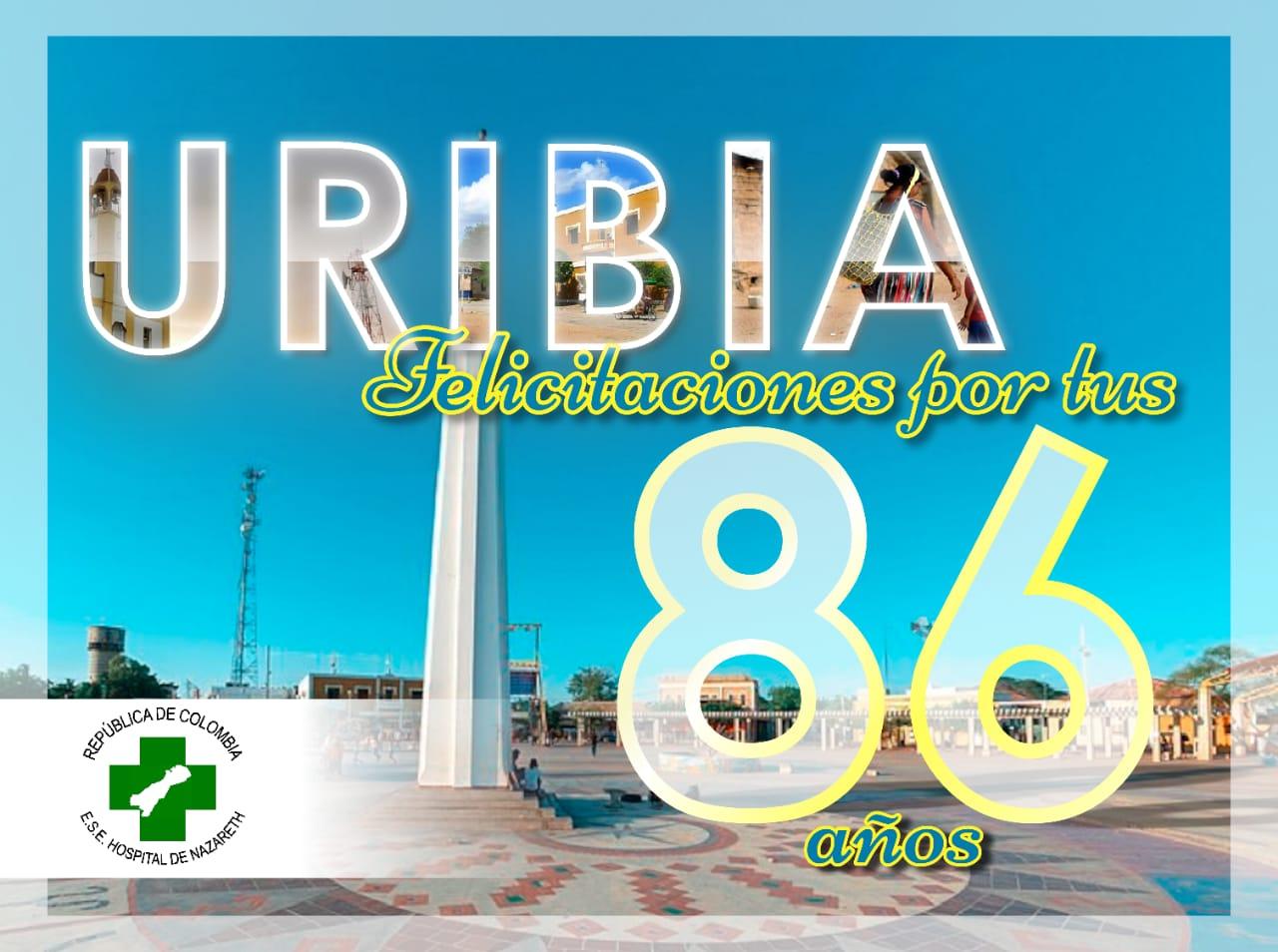 Felices 86 años, jóvenes visionando una Uribía sostenible.