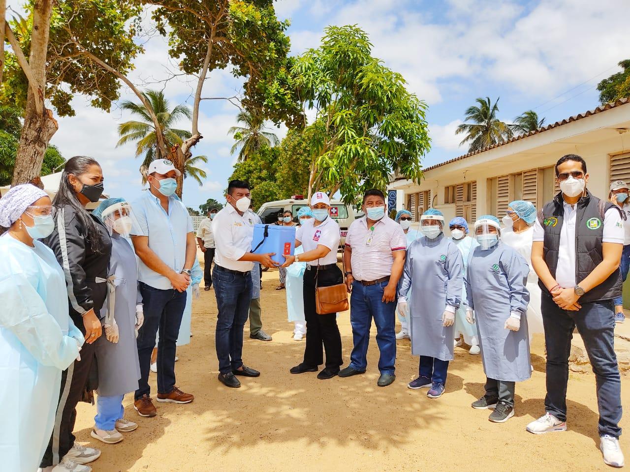 Recibimiento importante para la E.S.E Hospital de Nazareth