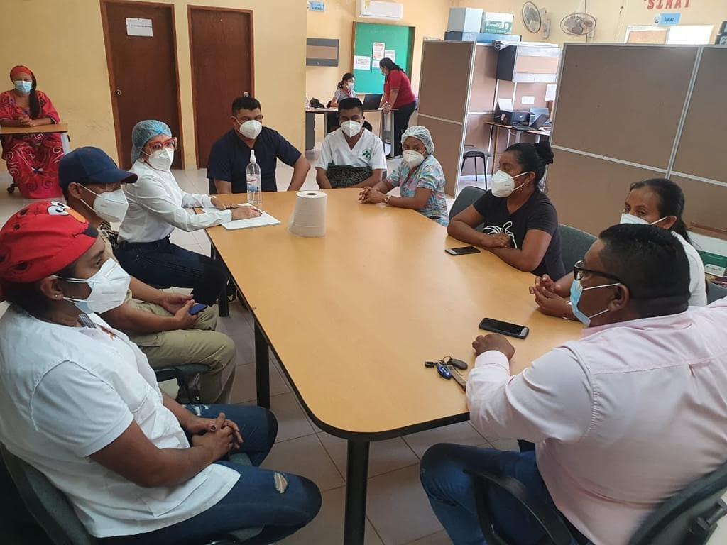 Hospital de Nazareth, Secretaria de Salud Municipal  y Cuerpo Docente y Administrativo del Internado Indígena Rural de Puerto Estrella